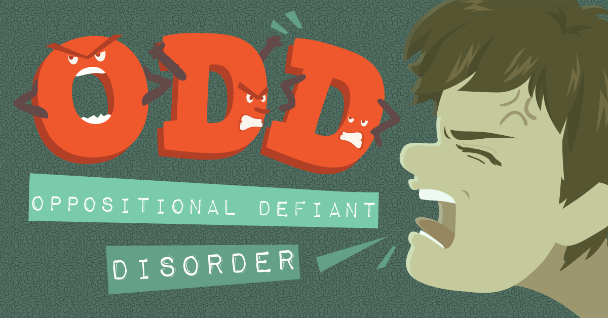 children with oppositional defiant disorder All children are oppositional from time to time, particularly when tired, hungry, stressed or upset.