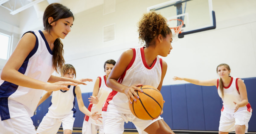 Teen Girls Benefiting From Organized Sports