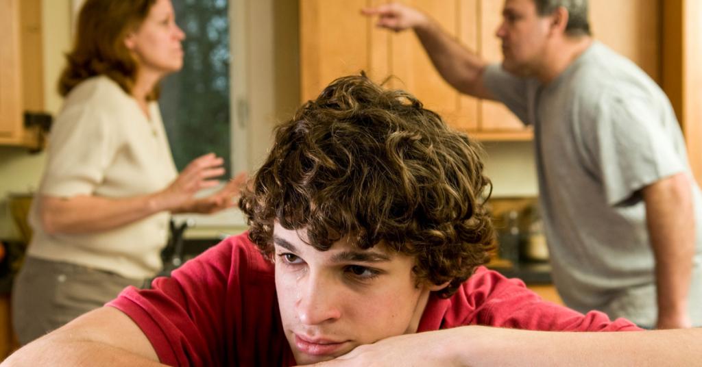 How Teens Struggle Through Parent's Divorce